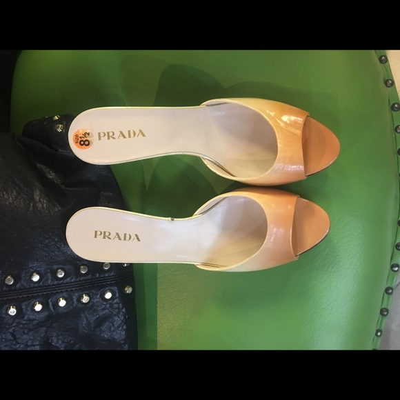 Prada Shoes - Prada ombré sandals